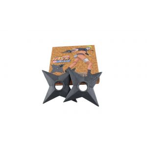 Naruto Shippuden Foam Ninja Shuriken Official Licensed, 2 Piece - FSB302SR