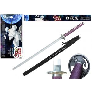 The Official Licensed Gintama -White Yasha (Joi War Era Gintoki) Sword - FSD5006
